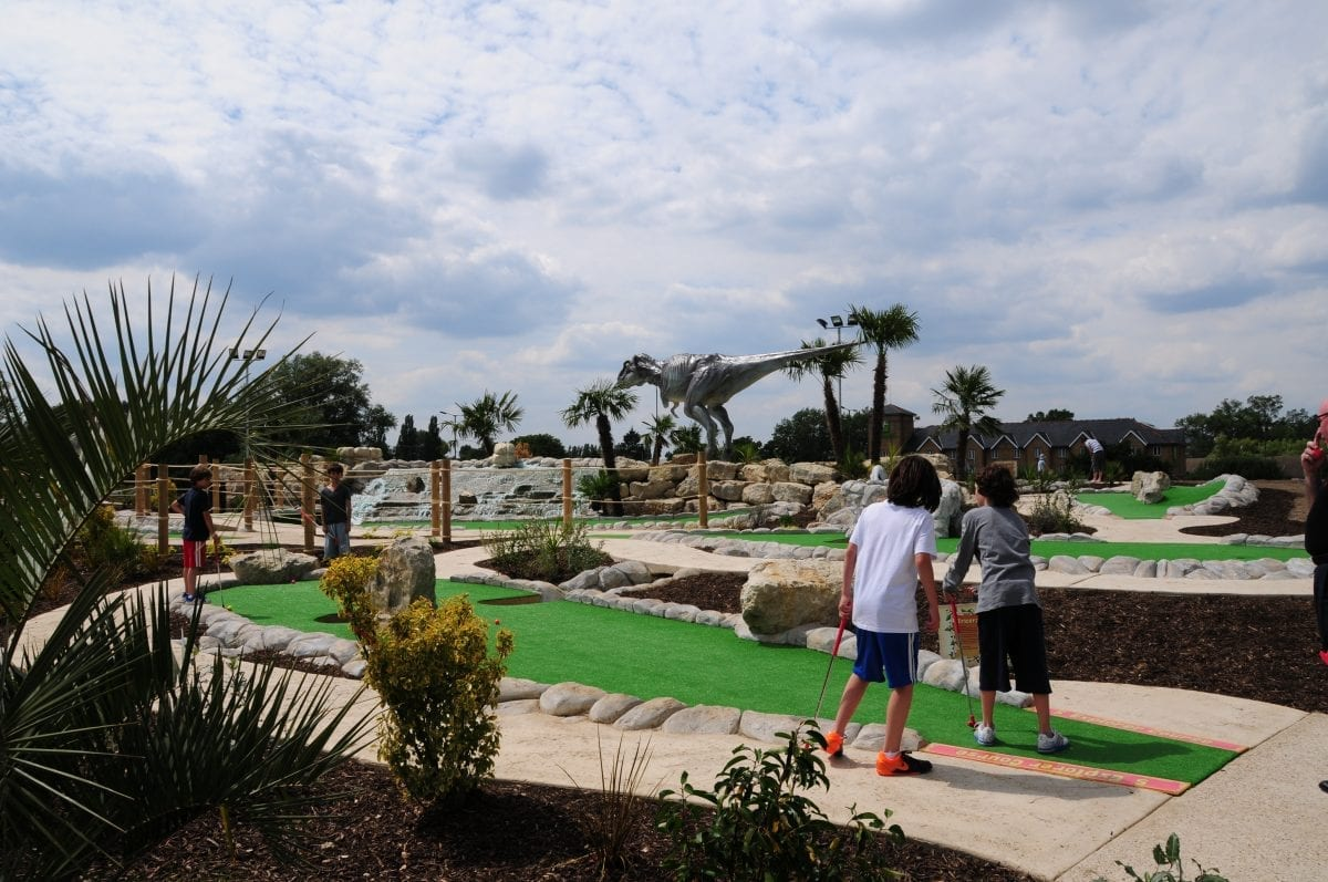 Why Dinosaur Safari Adventure Golf