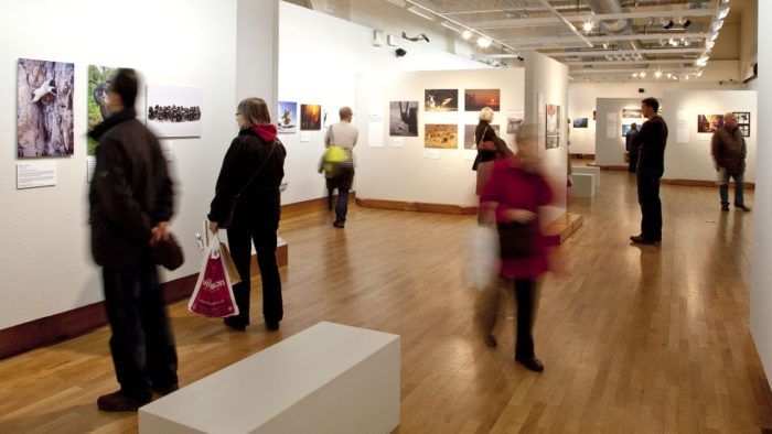 Visit a gallery for Valentine's Day