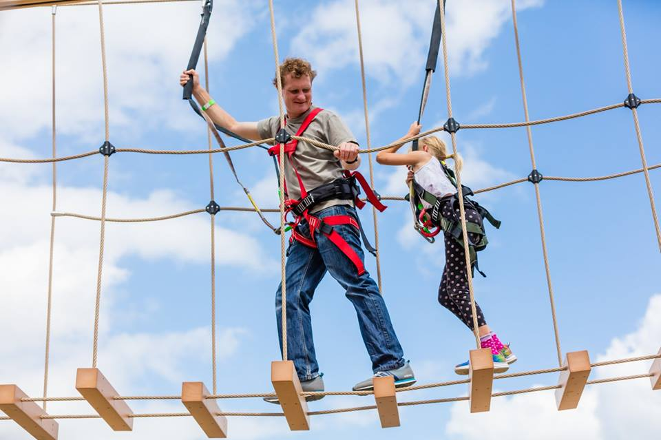 Altitude Adventure blog: Four rope course elements which make for a top notch high ropes course!