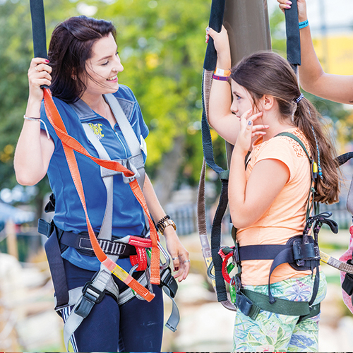 A Day in the Life of Micaela Chingford's Sky Trail Instructor