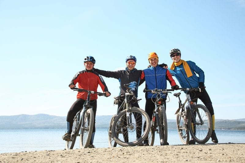 Mountain Biking Team Building
