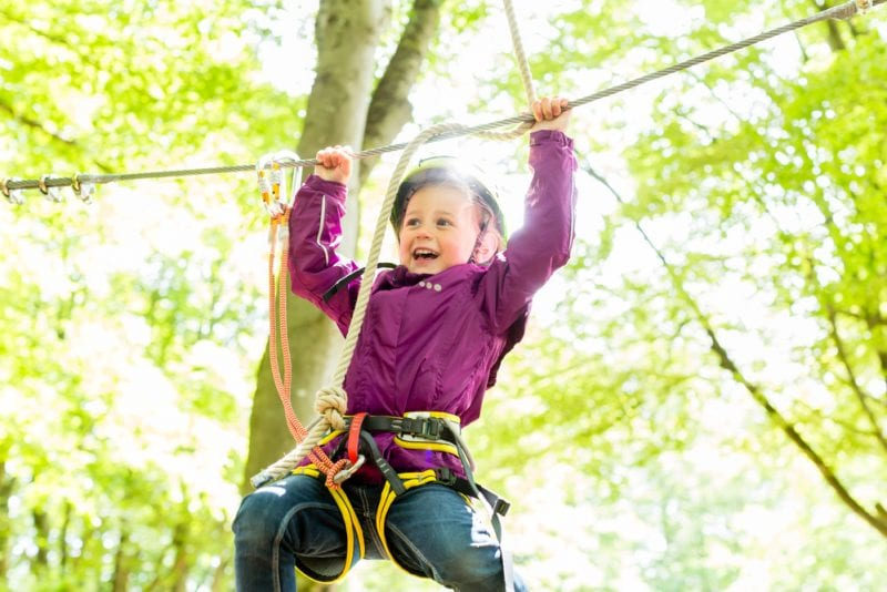 High Ropes Course Adventure Experience