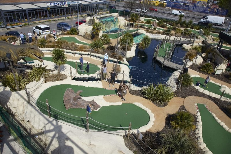 Adventure Golf for Hen Parties and stag dos