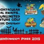 Adventure Golf Halloween Pass 2019
