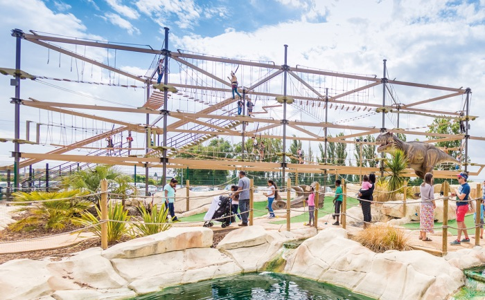 Halloween Party Idea - Visit a high ropes course