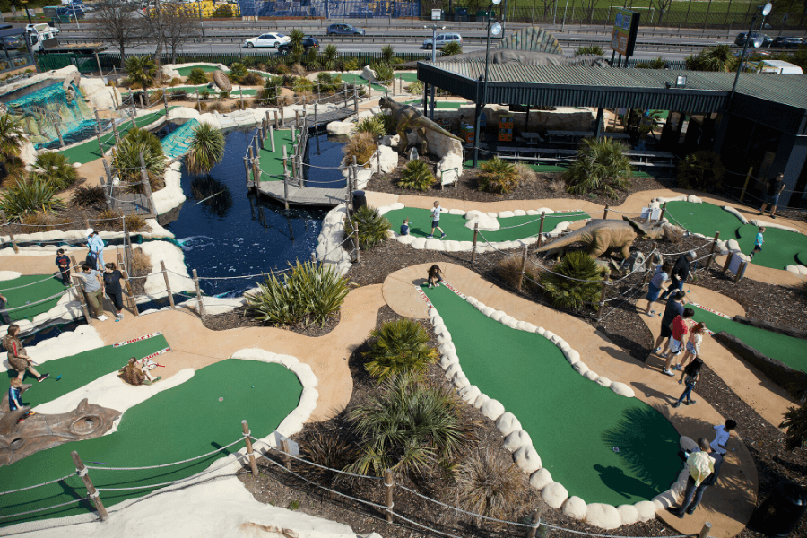 Adventure Golf is a Hole-in-One for Uni Students
