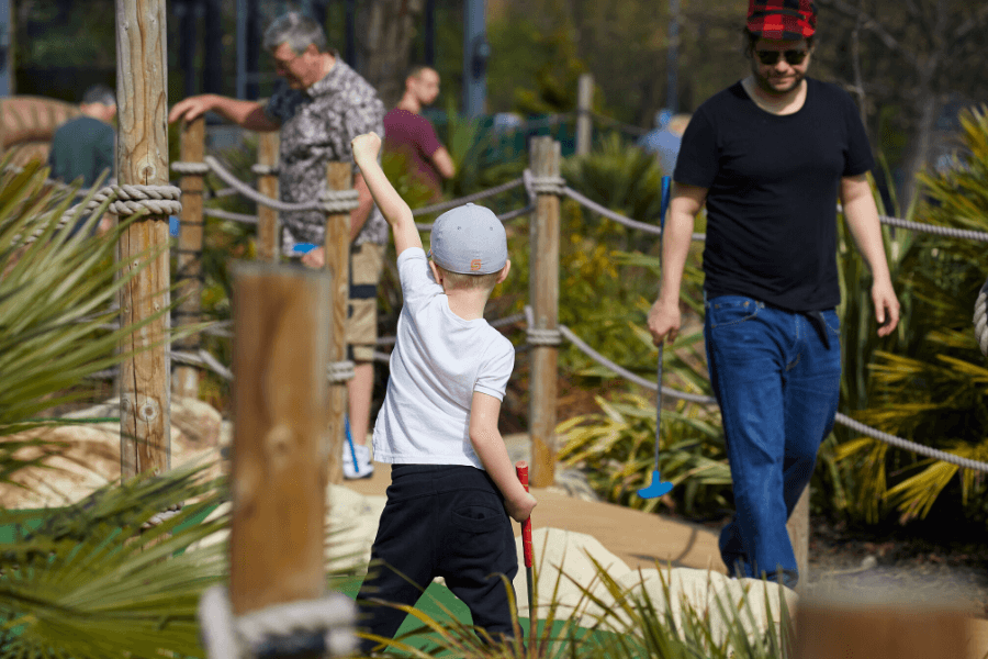 Winter Adventure Golf Family Activities